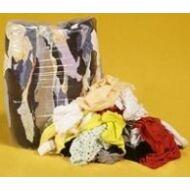 Ipari törlőrongy, dobozos, vágott, színes, 6 kg, 37*37 cm