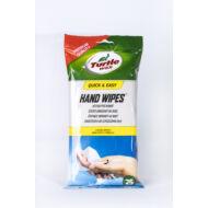 Turtle Wax kéztisztitó  kendő, 25db/tasak