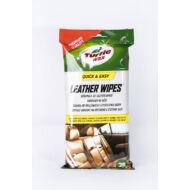 Turtle Wax bőrápoló-tisztitó kendő, 25db/tasak