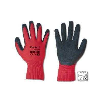 Perfect Grip Red, védőkesztyű, latex, 1 pár