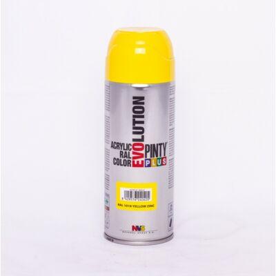 Pinty Plus  EVO akril RAL 1018 400ml Cinksárga (Zinc Yellow)