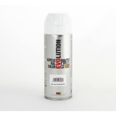 Pinty Plus  EVO akril RAL 9010 400ml Fényes Fehér