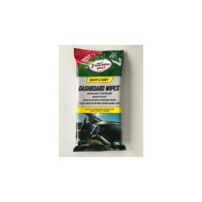 Turtle Wax - Műszerfalápoló kendő (25db/tasak)