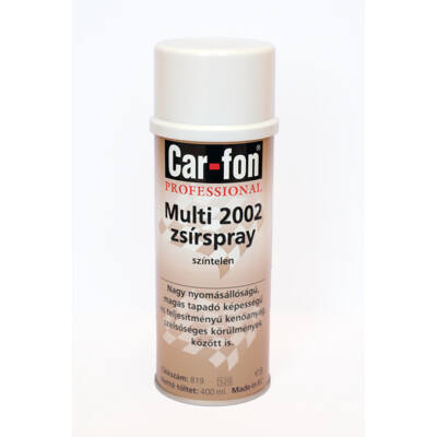 CarloFon - Multi 2002 zsír spray, 400 ml