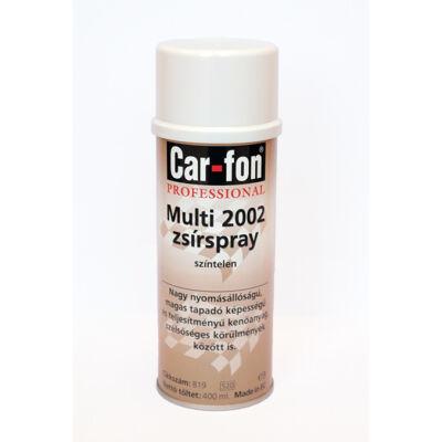 CarloFon - Multi 2002 zsír spray, 400 ml
