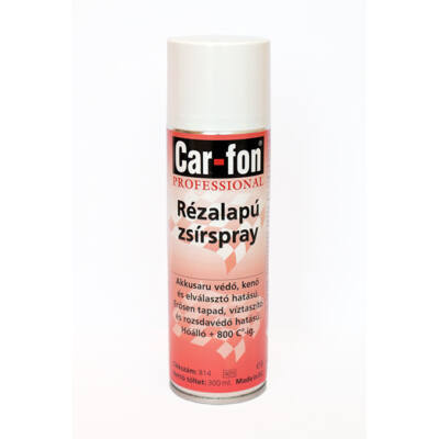 CarloFon - Réz spray, 800°C, 300 ml