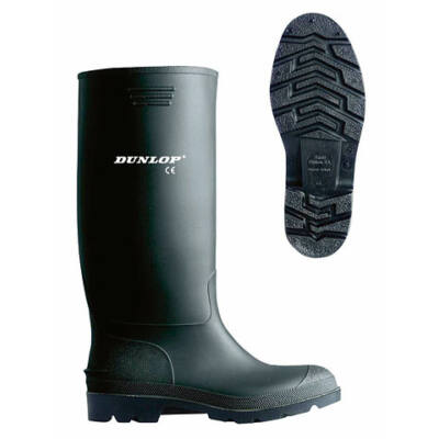 Dunlop fekete gumicsizma