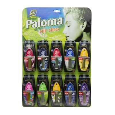 PALOMA AutóParfüm Tábla (vegyes 30 db-os) Display