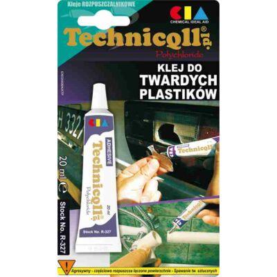 Technicoll - Kemény műanyag ragasztó, 20ml