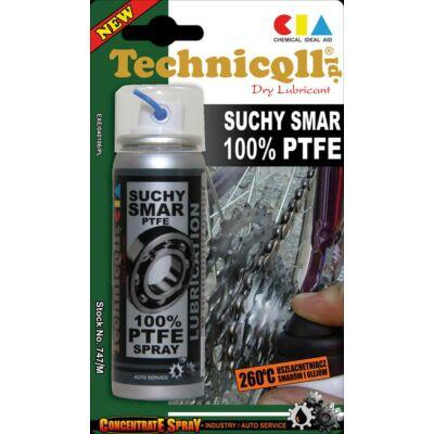 Technicoll - PTFE spray, 100%, száraz kenőanyag, 50 ml
