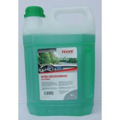 Tegee nyári szélvédőmosó folyadék 4L