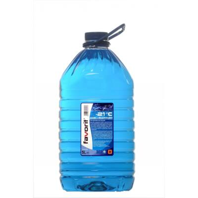 Favorit - téli szélvédőmosó -20 C°-ig, 5L(PET)