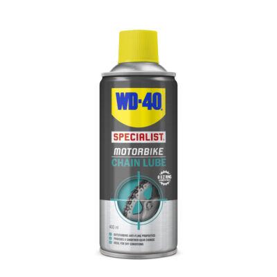 WD-40 Specialista Motorbike lánckenő spray 400ml